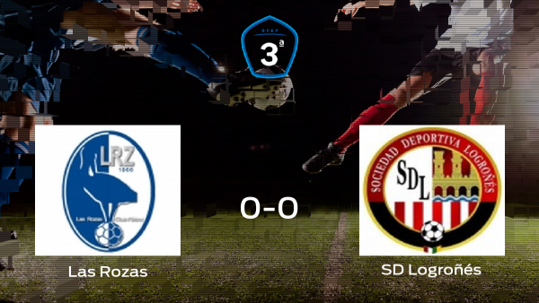 Las Rozas y el Logroñés firman un empate en la ida de la semifinal de los playoff (0-0)