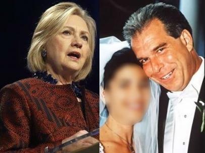 Hillary Clinton y su hermano