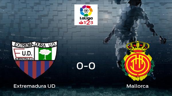Empate, 0-0, entre el Extremadura UD y el Mallorca
