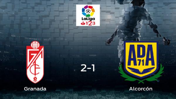 El Alcorcón pierde 2-1 en el Nuevo Los Cármenes ante el Granada