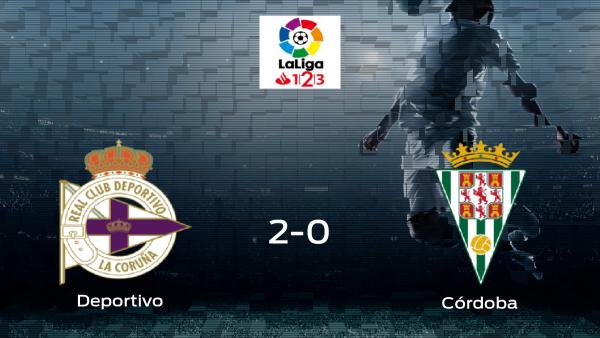 El Córdoba pierde 2-0 en casa del Deportivo