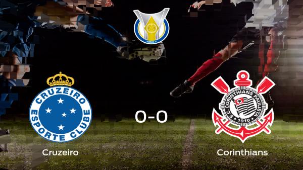 El Corinthians saca un punto al Cruzeiro a domicilio 0-0