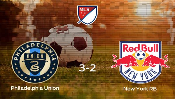 El Philadelphia Union vence 3-2 en su estadio frente al New York RB