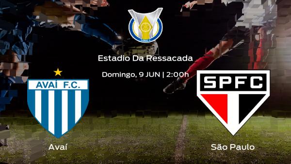Jornada 8 del Campeonato Brasileño: previa del partido Avaí - São Paulo