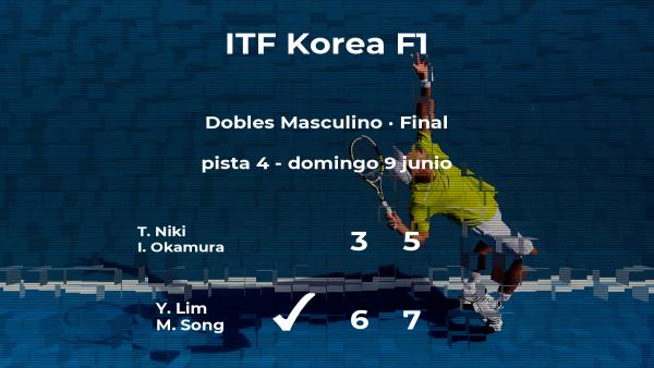 Lim y Song se convierten en los campeones del torneo de Daegu