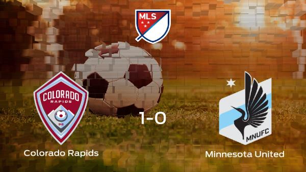 El Colorado Rapids se lleva la victoria en casa frente al Minnesota United (1-0)