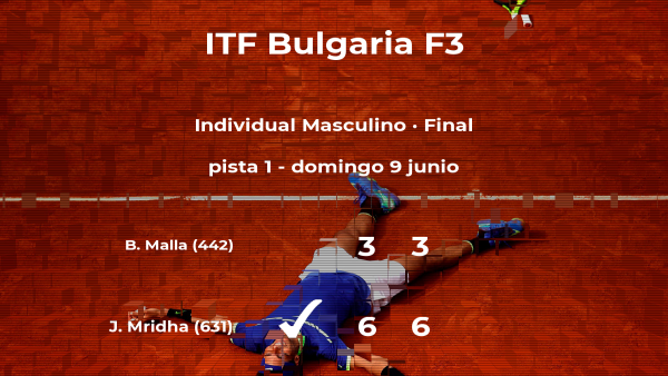 Triunfo de Jonathan Mridha en la final del torneo de Plovdiv