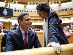 Pedro Sánchez y Magdalena Valerio