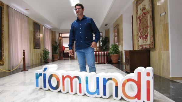 Pedro García con 'Ríomundi'