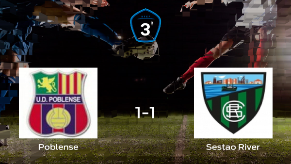 Empate 1-1 en el partido de ida de la semifinal de los playoff entre Poblense y Sestao River