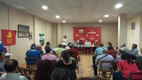 Córdoba.- La Coordinadora Provincial de IU aprueba el informe político con el 75% de los votos a favor