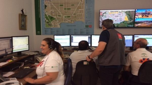 Huelva.-Plan Aldea activa el 'Dispositivo Ermita' para optimizar respuesta ante emergencias durante salida procesional