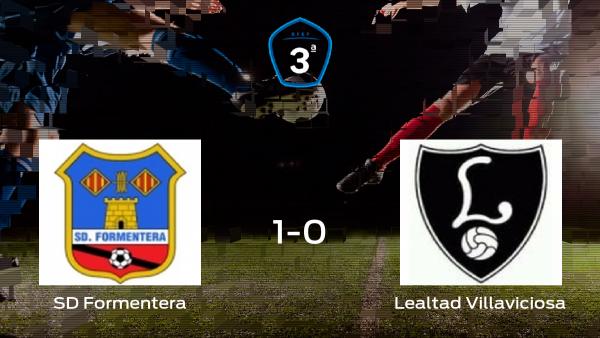 El Formentera comienza con ilusión la semifinal de los playoff tras ganar 1-0