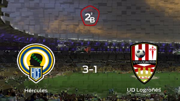 El Hércules aprovecha su ventaja de campo y se pone por delante en la eliminatoria de los Playoff (3-1)