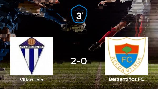 El Villarrubia comienza con ilusión la semifinal de los playoff tras ganar 2-0
