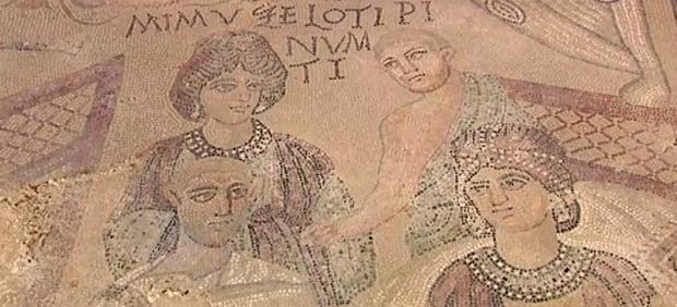Mosaico romano en Cuenca