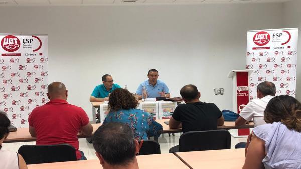 Córdoba.- UGT celebra en Córdoba la Asamblea General del XV Convenio de Centros de Atención a Personas con Discapacidad