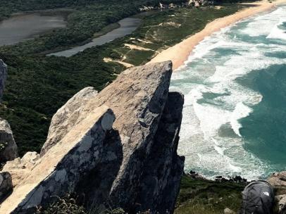 Lagoinha do Leste Morro da Coroa, uno de los paisajes brasileños en los que The North Face ha incluido sus productos