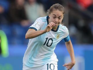 Banini, centrocampista de Argentina
