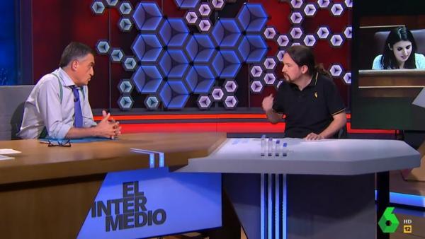 Pablo Iglesias, en 'El intermedio'