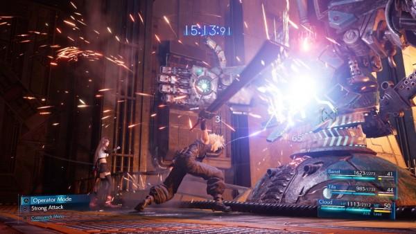 Fotograma de 'Marvel's Avengers' y el 'remake' de 'Final Fantasy VII'