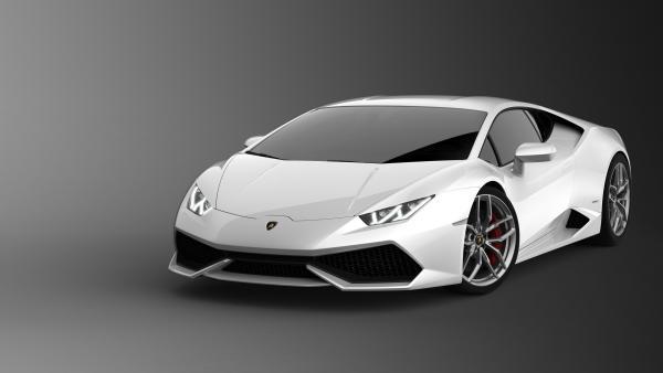 Una imagen de un Lamborghini Huracán