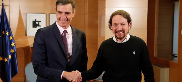 España.- AV.- Iglesias revela que Sánchez le ha ofrecido un 'Gobierno de coopera