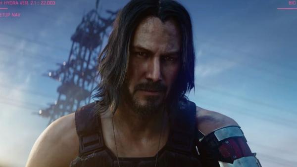 Keanu Reeves en 'Cyberpunk 2077'
