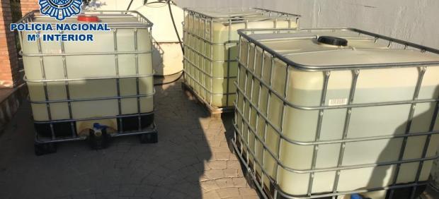 Cádiz.-Sucesos.- Tres detenidos por la extracción ilegal de hidrocarburos en un oleoducto situado en El Puerto