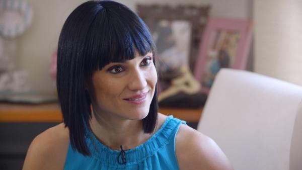 La periodista Irene Villa