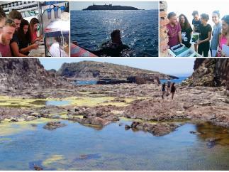 Cádiz.- Estudiantes de doctorado CEI·Mar realizan en estudio sobre biodevirsidad en Chafarinas, el norte de África