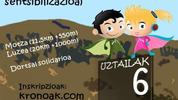 Organizan una carrera solidaria el 6 de julio en Usurbil (Gipuzkoa) para dar a conocer el Síndrome de Phelan-McDermid