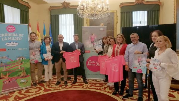 Gijón.- Más de 8.000 personas participarán este domingo en la XV Carrera de la Mujer