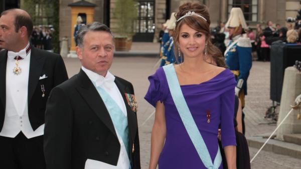 Abdalá y Rania de Jordania