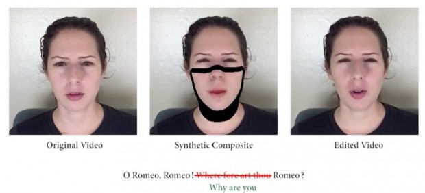 Inteligencia artificial que manipula las declaraciones de los vídeos