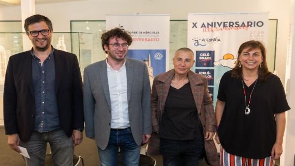 Un concierto de Mercedes Peón conmemorará el X aniversario de la Torre de Hércules como Patrimonio de la Humanidad