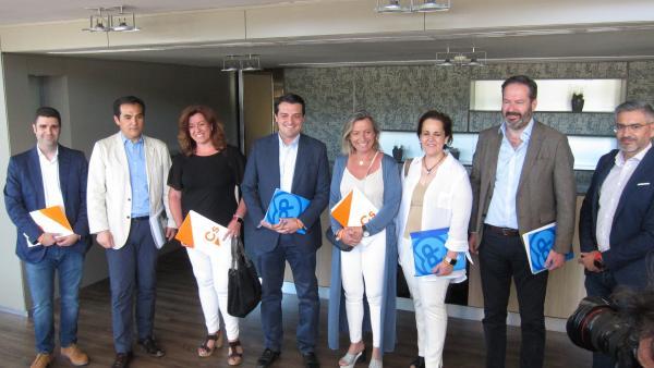 Córdoba.-26M.-PP y Cs ven posible un acuerdo en la capital al constatar 'un alto grado de coincidencia' en sus proyectos