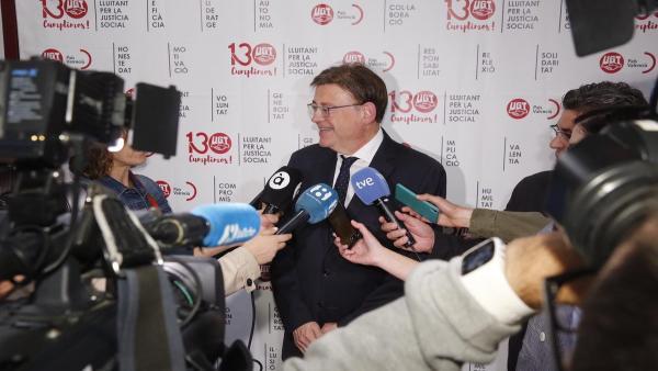 Puig no entendería que no hubiera un acuerdo para el Botànic II: 'Cada partido es responsable de sus decisiones'