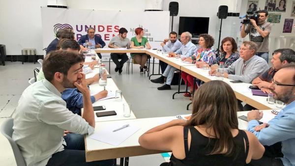 Unides Podem se levanta de la negociación del Botànic II con PSPV y Compromís al no llegar a un acuerdo 'proporcional'