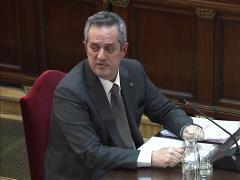 Interrogatorio a Joaquim Forn en el juicio por el procés.