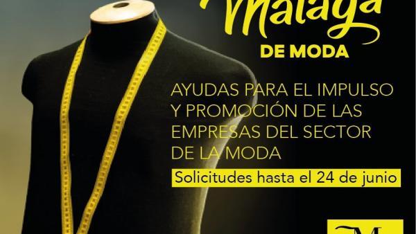 Málaga.- Las empresas malagueñas vinculadas al mundo de la moda pueden solicitar subvenciones destinadas a la promoción