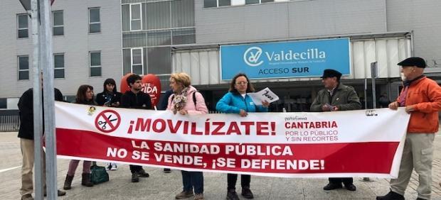 Cantabria por Lo Público pide 'investigación' sobre supuesta implicación de seis exnefrólogos de Valdecilla en sobornos