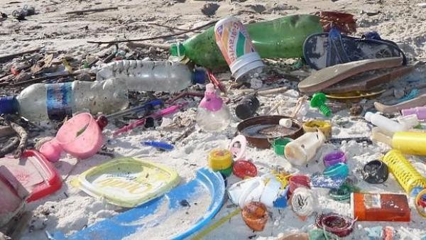 Residuos plásticos.