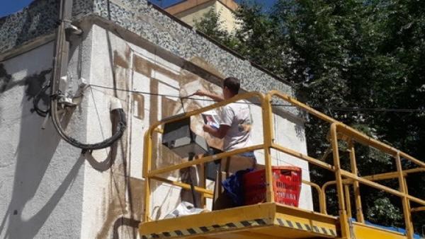 Ocho artistas urbanos decoran centros de transformación de Endesa en Tarragona