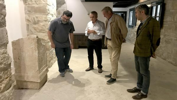 Jaén.- La UJA catalogará y restaurará la colección de piezas romanas de la Casa Palacio de Mengíbar