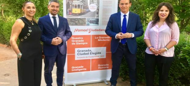 26M.- Ciudadanos propone recuperar el tranvía histórico a la Alhambra