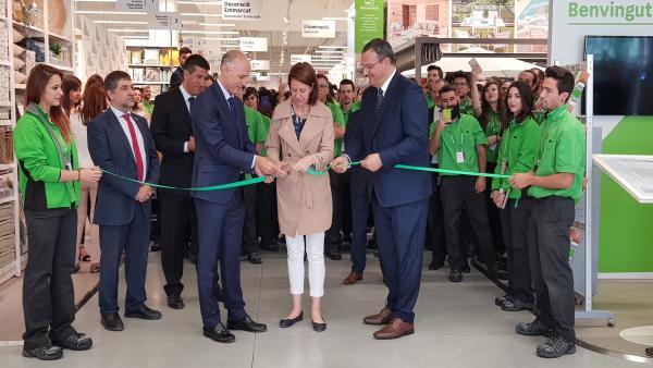 Leroy Merlin inaugura su nueva tienda en Girona