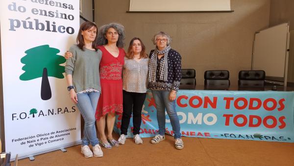Tres familias de Vigo denuncian la retirada de un cuidador que atendía a niños con necesidades especiales en su colegio