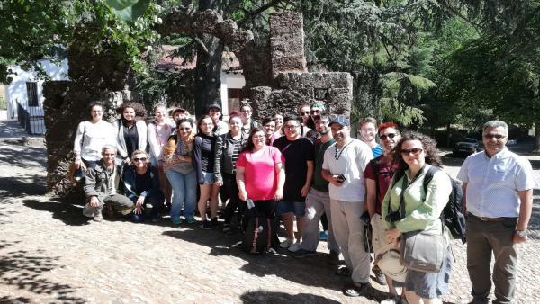 Huelva.- Alumnos universitarios de Sevilla, Canadá y Fez visitan el patrimonio renacentista de La Peña de Arias Montano