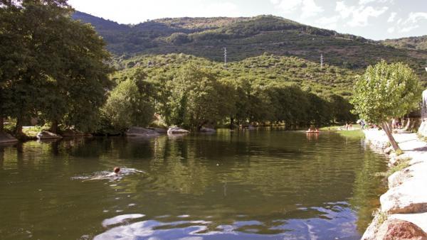 Piscina natural del valle del Jerte
